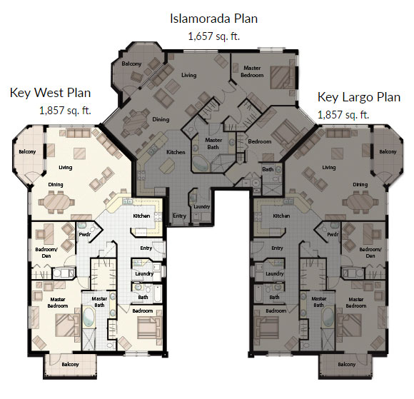 Key_West_Condominium_Bradenton_floor_plan_full_names_Palma_Sola_Bay_Club