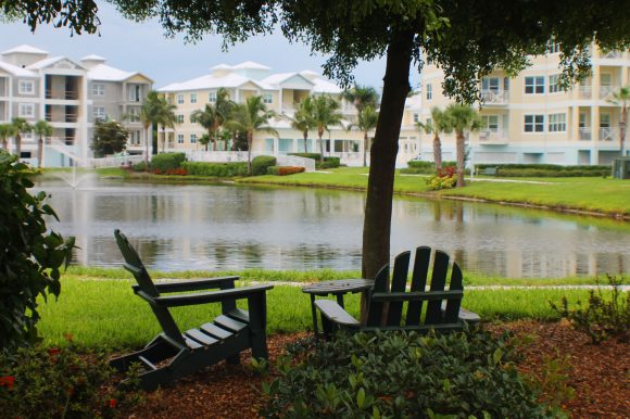 chairs by water - waterfront homes for sales in Bradenton