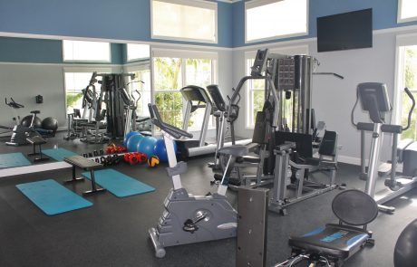 Fitness Center Gym Amenities at Bradenton Condominium For Sale
