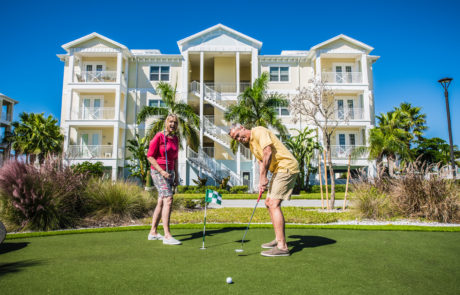 Putting Green Amenity Bradenton Condo
